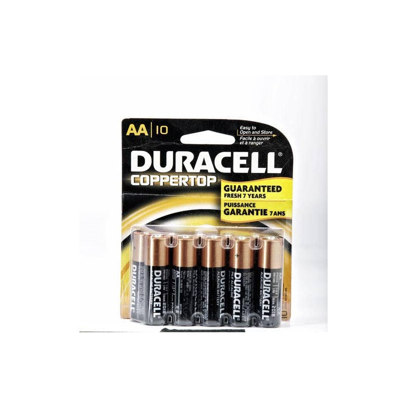 Batteries AA  Duracell 10-PACK
