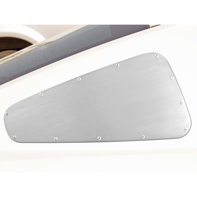 2010-13 Mustang Quarter Window Covers (Satin)