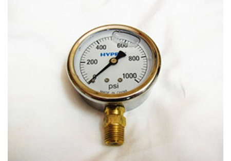 0-1000 PSI Glycerin Filled Gauge