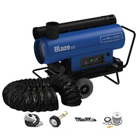 Veloci Blaze 100 Mobile Indirect Heater - Package