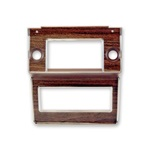 69-70 Radio Bezel (Wood Grain)