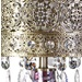 "25""H Bohemian Bazaar Mosaic Table Lamp"