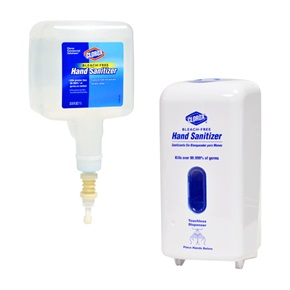 Clorox Hand Sanitizer Touchless Dispenser & Refills