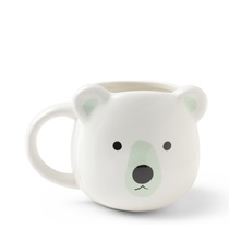 Animal Face Mug White Polar Bear