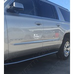 Tapered Chrome Body Side Molding - Profile 1