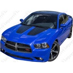 2011-2014 Dodge Charger Solid Hood Kit