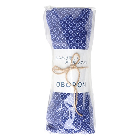 Tea Towel - Oboro Blue