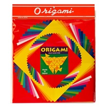 3 SIZE ORIGAMI PAPER LG - 57 SHEETS