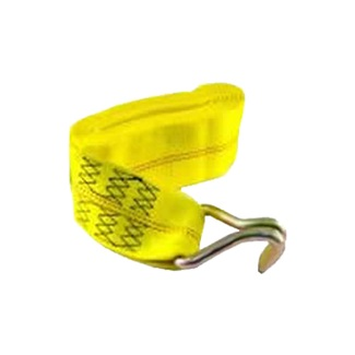 "4"" x 25' Replacement Strap with JJ Hooks, Yellow"