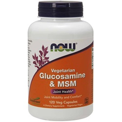 Glucosamine & MSM (120 Vcaps)