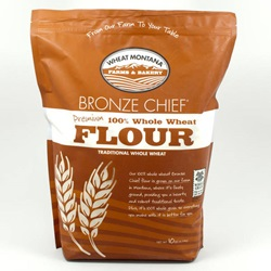 Whole Wheat Flour, Bronze Chief (10lb Bag)
