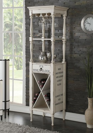 97462 PURE WHITE WINE CABINET