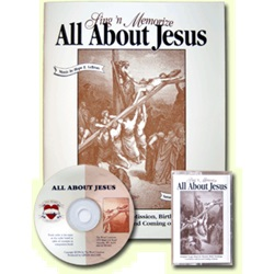Thy Word - All About Jesus - KJV  - 1 Book w/CD