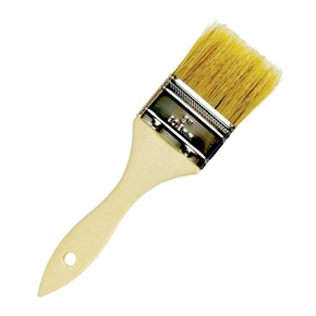 Wood Handled Treatment Brush
