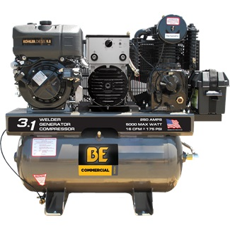 30 GALLON COMPRESSOR/GENERATOR/WELDER