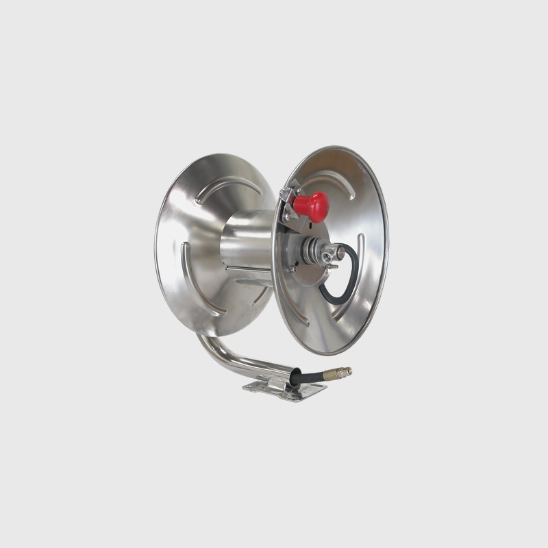 200ft Stainless Steel Hose Reel  sc 1 st  Be Pressure & BE Power Equipment - 200ft Stainless Steel Hose Reel