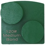 Double Dot Medium Bond 120 Grinder Tooling for Husqvarna® Redi Lock®