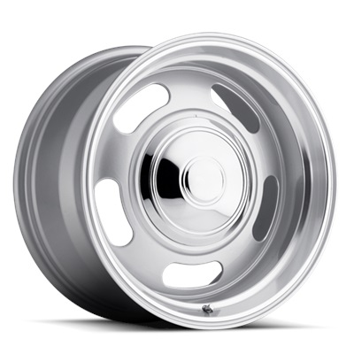 107 Classic Series Rally 5x120.7/5x127 - Silver/Trim Ring