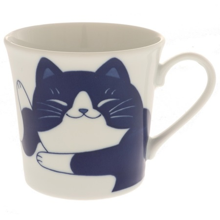 Blue Cats 8 oz. Mug