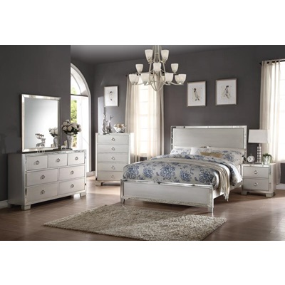 24840Q VOEVIIIE II PLATINUM QUEEN BED