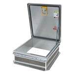 Personnel II Roof Hatch, Ladder Access, Aluminum