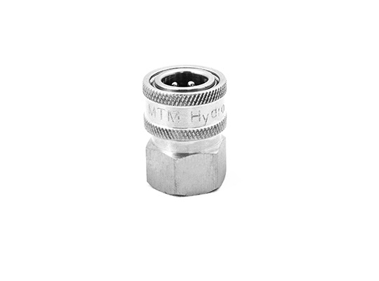 "MTM Hydro 1/2"" Female NPT Stainless Quick Coupler"