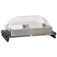 Cadco WTBS-2RT Double Buffet Server