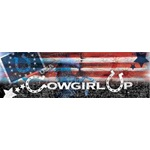 Cowgirl Up Flag Collage