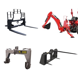 3PT Hitch & Material Handling Attachments
