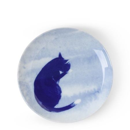 Blue Cat Grooming Plate