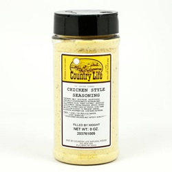 Chicken Style Seasoning - Country Life (8oz)