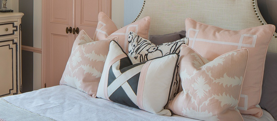 today the caroline cole pillow is synonymous with contemporary design exquisite quality and craftsmanship - Interior Design Licensing