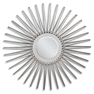 "97054 SILVER ACCENT MIRROR, 45""D"