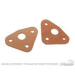 67-70 Leather Wiper Pivot Seals (Pair)