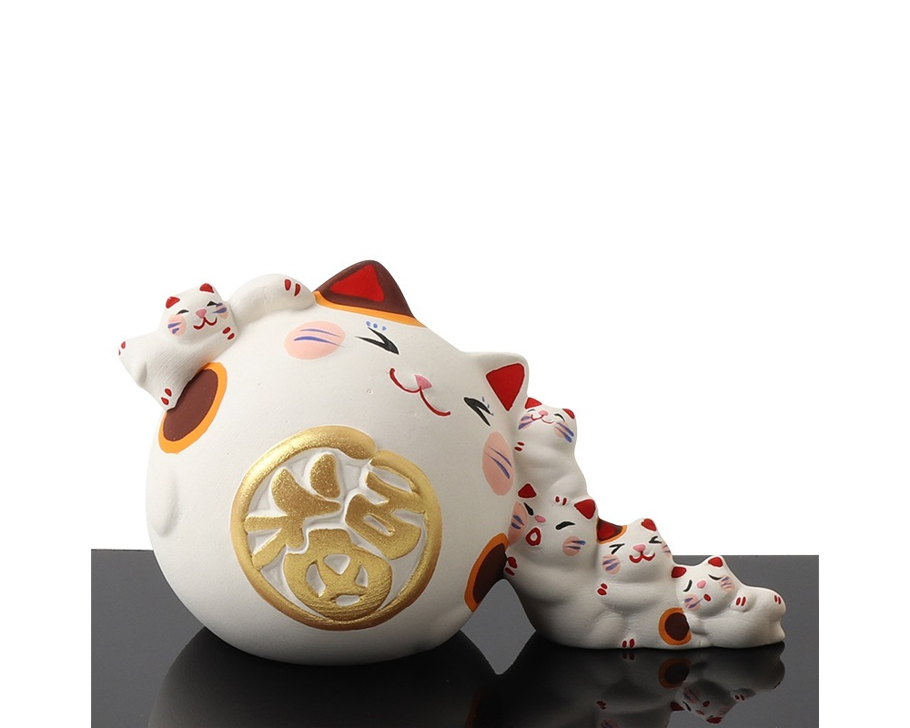 Figurine Fortune Cats Nanakorobi