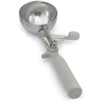 Vollrath 47140 Jacob's Pride Size 8 Gray Handle 4 Oz Disher
