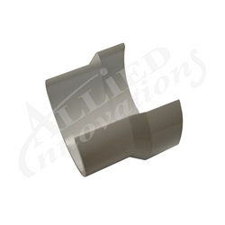 PVC CLIP-ON PIPE SEAL: 1-1/2""
