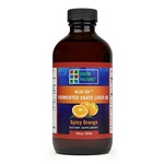 Blue Ice™ Fermented Skate Liver Oil - Spicy Orange 240 ml