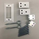 "KeepSafe® Hardware Kit Models: 36"",60"",84"" & 108"""
