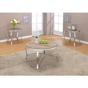 81705 3PC PK COFFEE/END TABLE SET