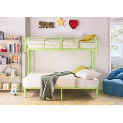02081GR GREEN  T/F BUNKBED KD VERSION