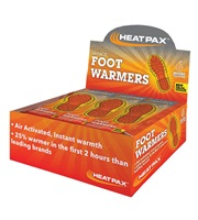 Heat Pax® Foot Warmers 30-Pack Display