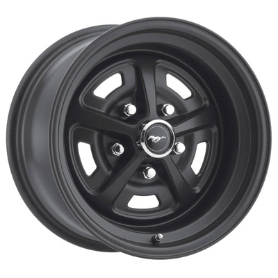 17x7 Magnum 500 Alloy Wheel, 5 on 4.5 BP, 4.25 BS, Stealth Black