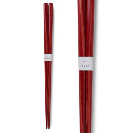 Chopsticks Wood Red 1