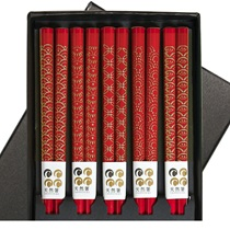 Red & Gold Chopsticks Boxed Set