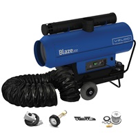 Veloci Blaze 200 Mobile Indirect Heater - Package