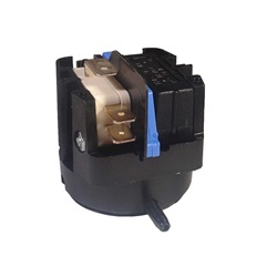 AIR SWITCH: 20AMP SPDT LATCHING RADIAL