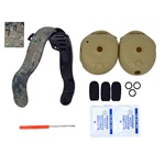 Camo Headband and Tan Ruggedizer Kit