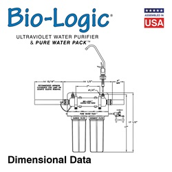 Bio-Logic Pure Water Pack Dimensional Data