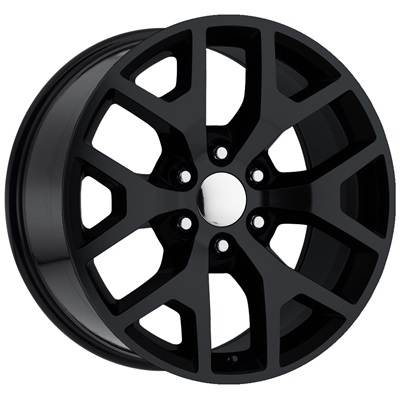 OE Replica 586 Series 20x9 6x139.7 - Gloss Black